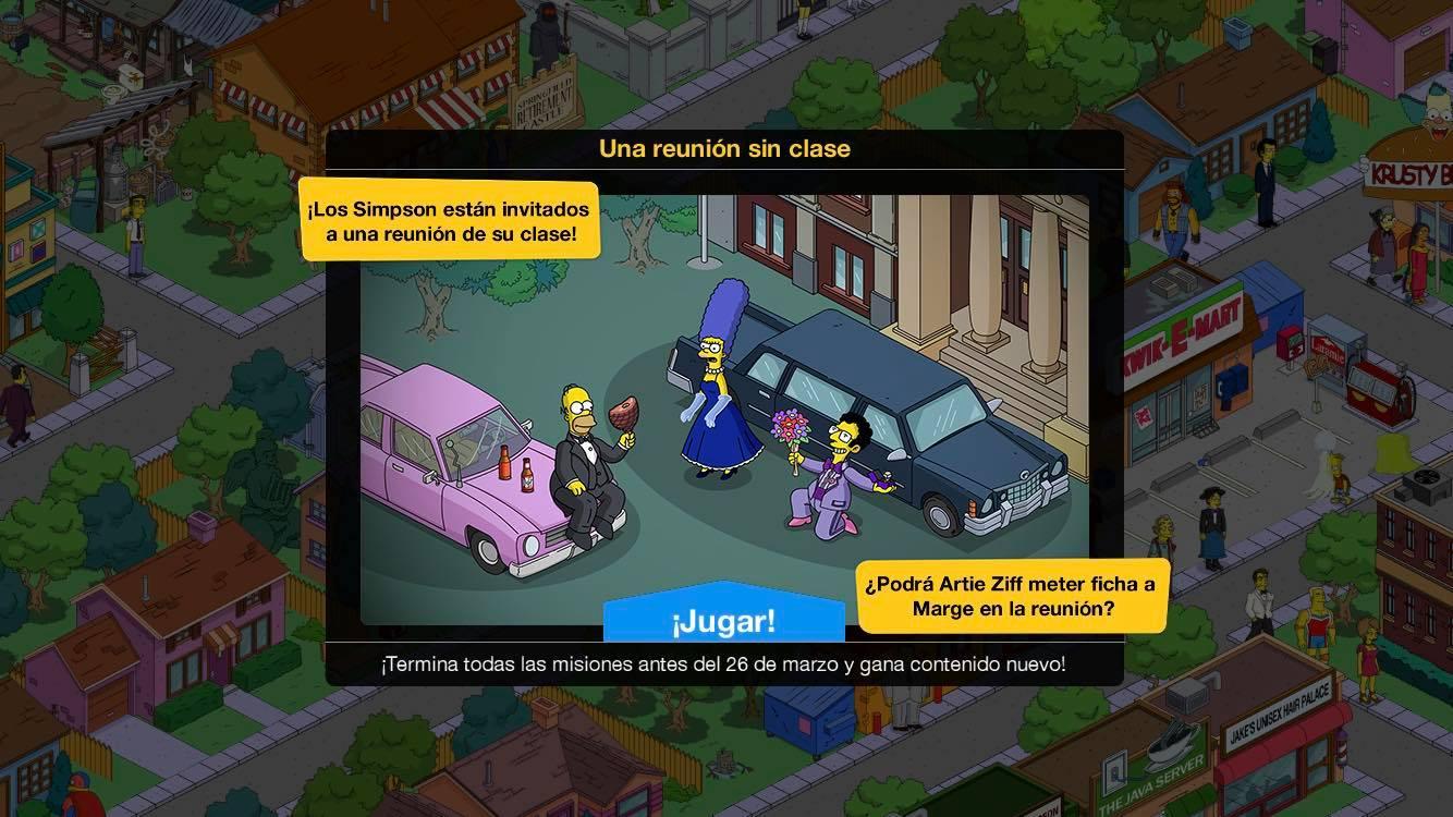 Los Simpson: Springfield - Reunión sin clase