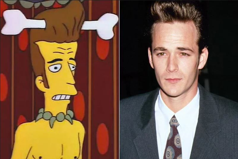 Los Simpson estrella invitada: Luke Perry
