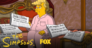 El corto A Tale Of Two Trumps, de Los Simpson, nominado a un premio Webby