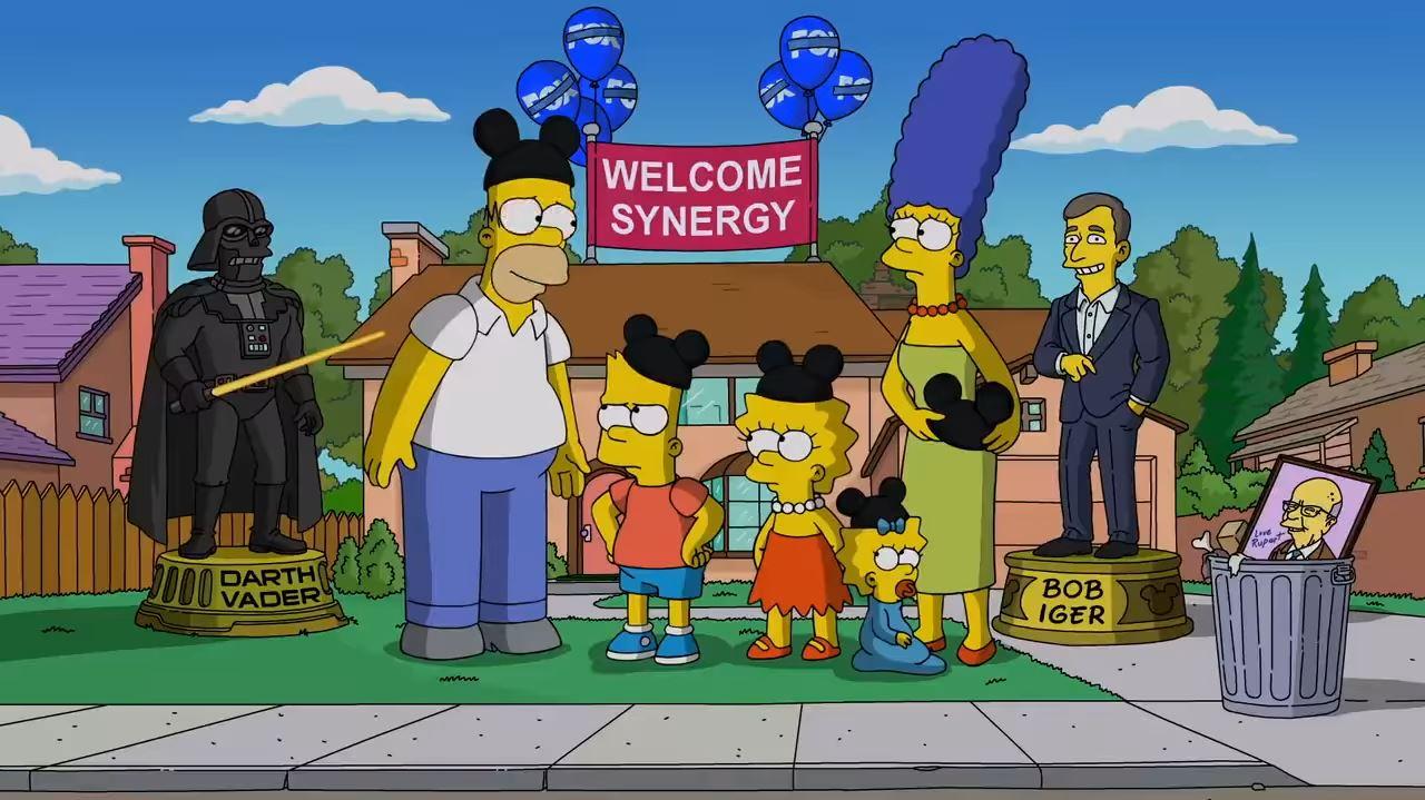 Los Simpson llegan a Disney