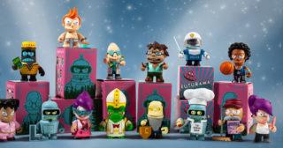 Nuevas figuras de Futurama de la marca Kidrobot