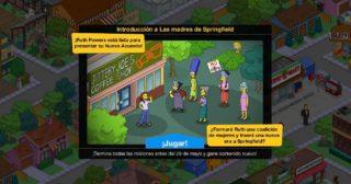Nuevo minievento en Los Simpson: Springfield - Las madres de Springfield
