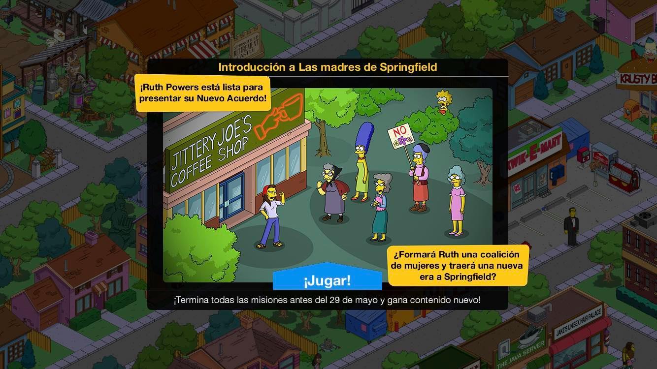 Los Simpson: Springfield - Las madres de Springfield