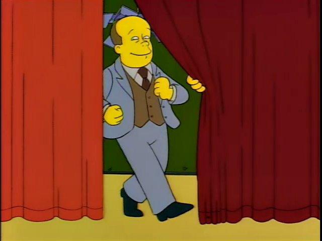 Tim Conway en Los Simpson