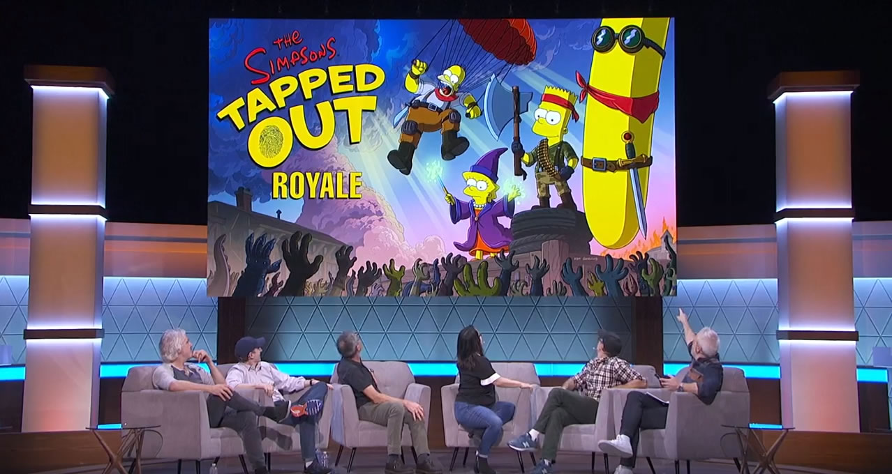 Los Simpson: Springfield - Game Of Games - Tapped Out Royale