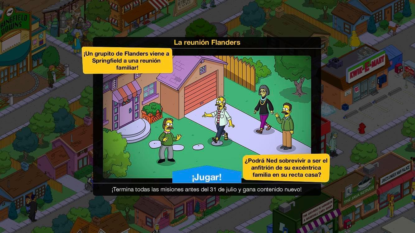 Los Simpson: Springfield: La reunión Flanders