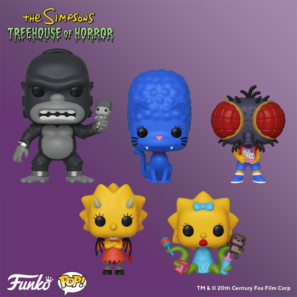 Simpsons Funko Pop! Series 3 (Halloween)