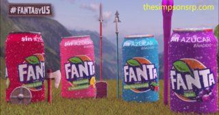 Anuncio de Fanta con las voces españolas de Lisa, Milhouse, Ralph y Bart