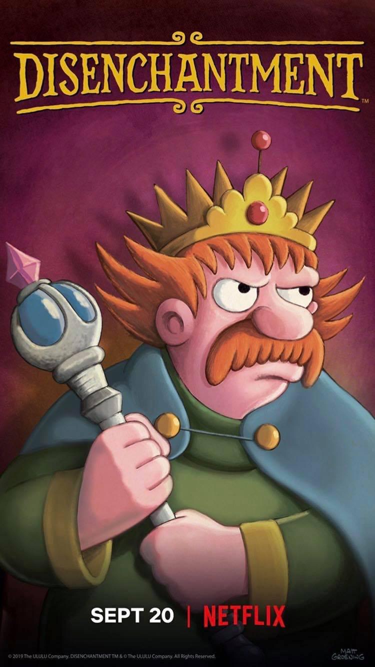 Imagen promocional de la temporada 2 de (Des)encanto: Rey Zøg