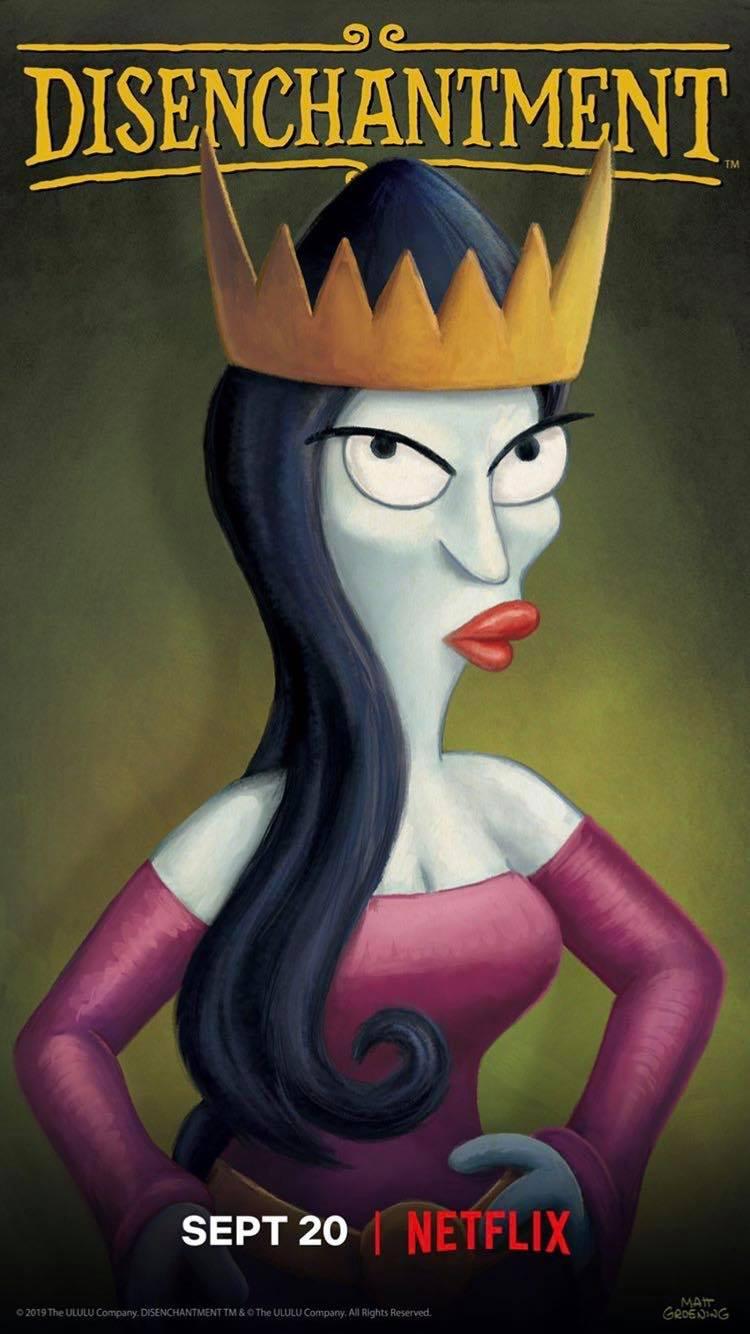 Imagen promocional de la temporada 2 de (Des)encanto: Reina Oona