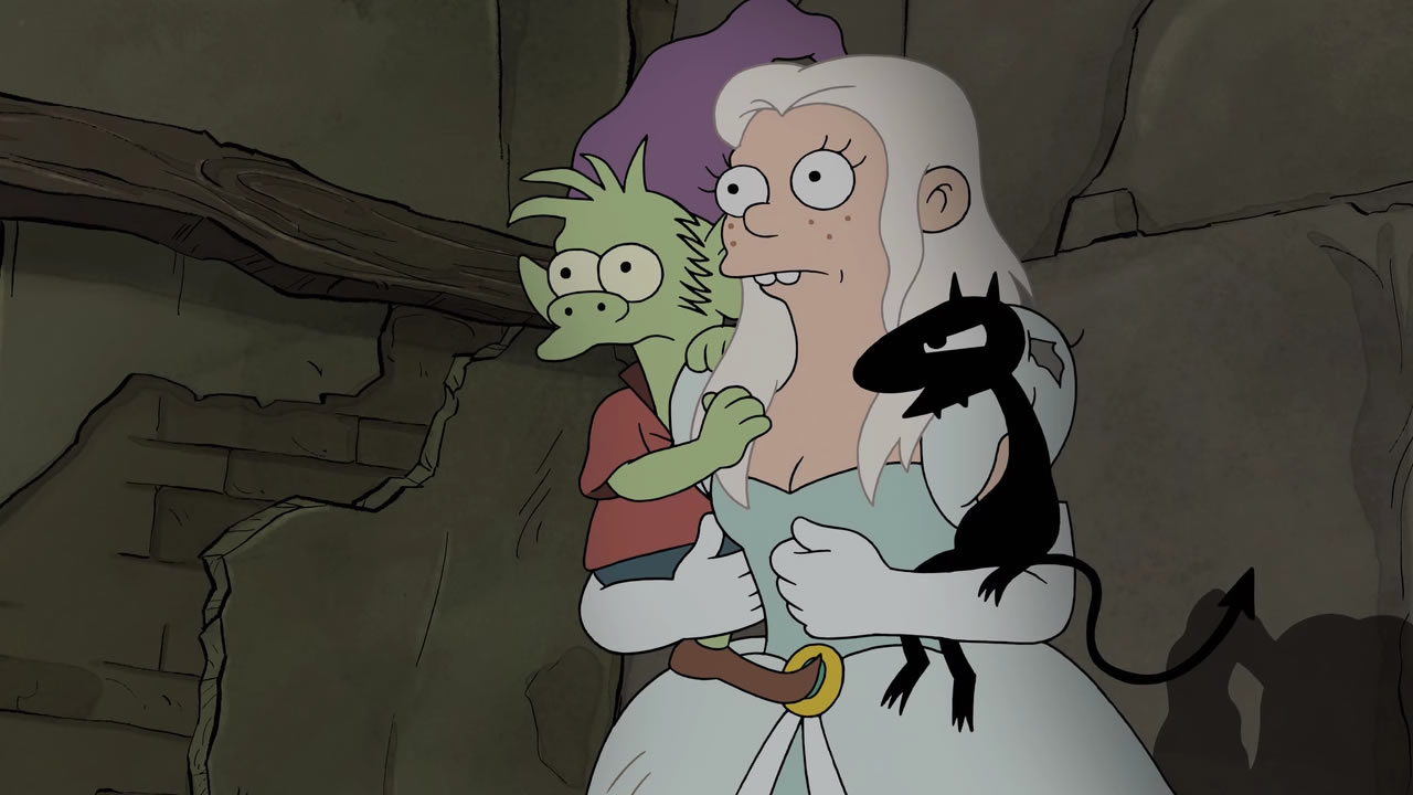(Des)encanto: Una princesa, un elfo y un demonio entran en un bar