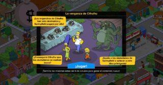 Nuevo minievento en Los Simpson: Springfield - La venganza de Cthulhu