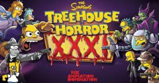 Estreno de Los Simpson en Norteamérica: «Treehouse Of Horror XXXI» (32x04)
