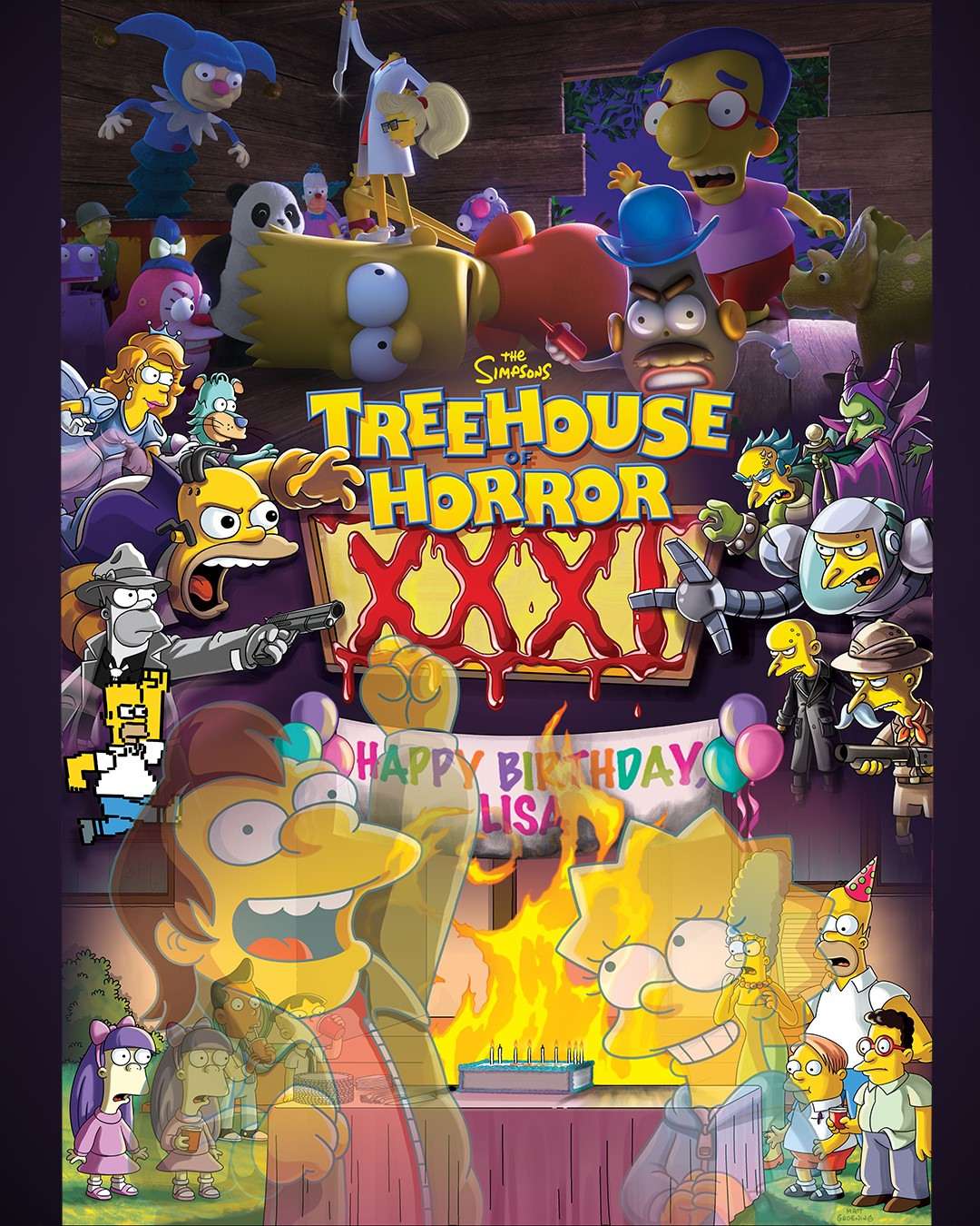 Estreno De Los Simpson En Norteamérica Treehouse Of Horror Xxxi 32x04