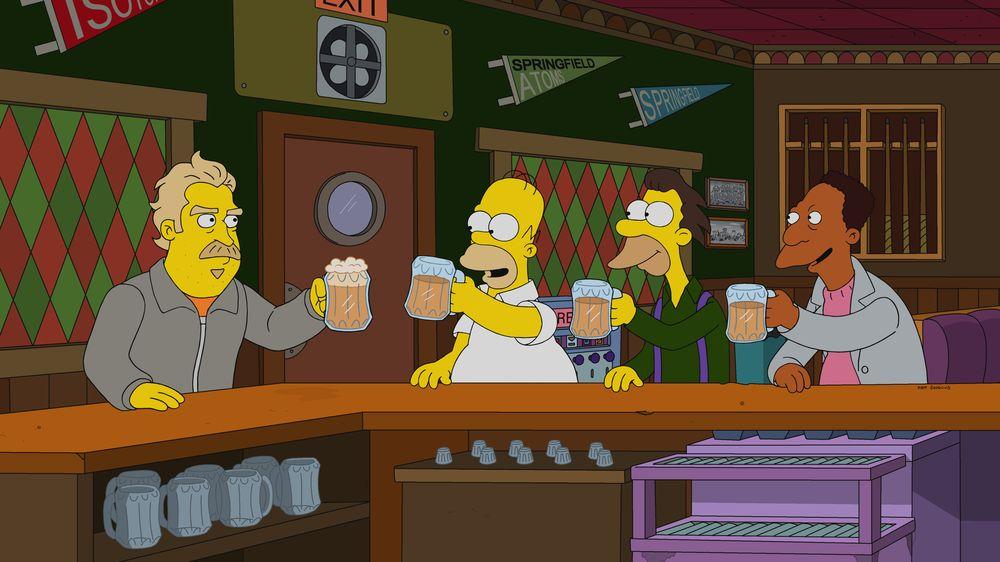 Los Simpson - Undercover Burns