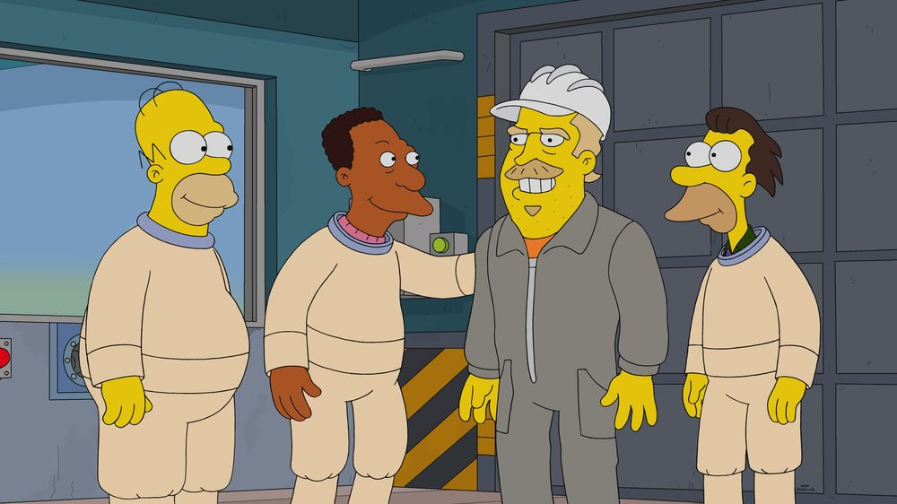 """Los Simpson - Temporada 32 - """"Undercover Burns"""""""