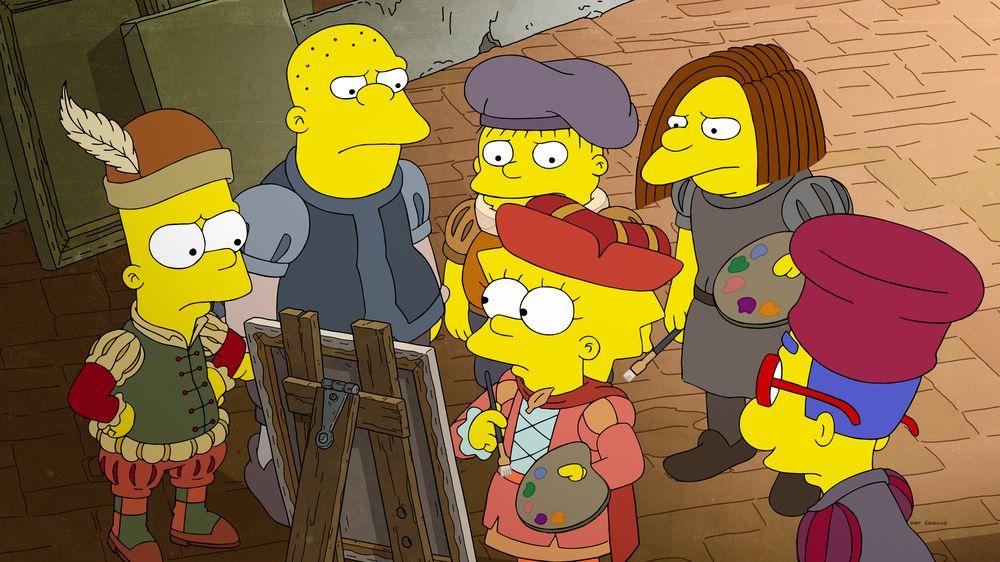 Los Simpson - Temporada 32 - Ahora Museo, Ahora No