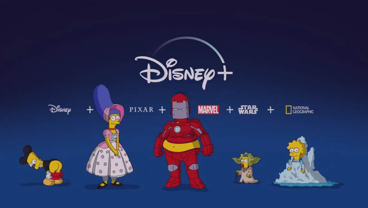 Los Simpson en Disney+