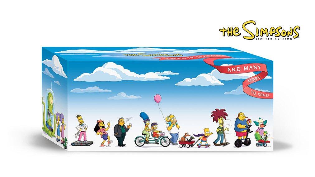 Los Simpson: Pack 20 primeras temporadas