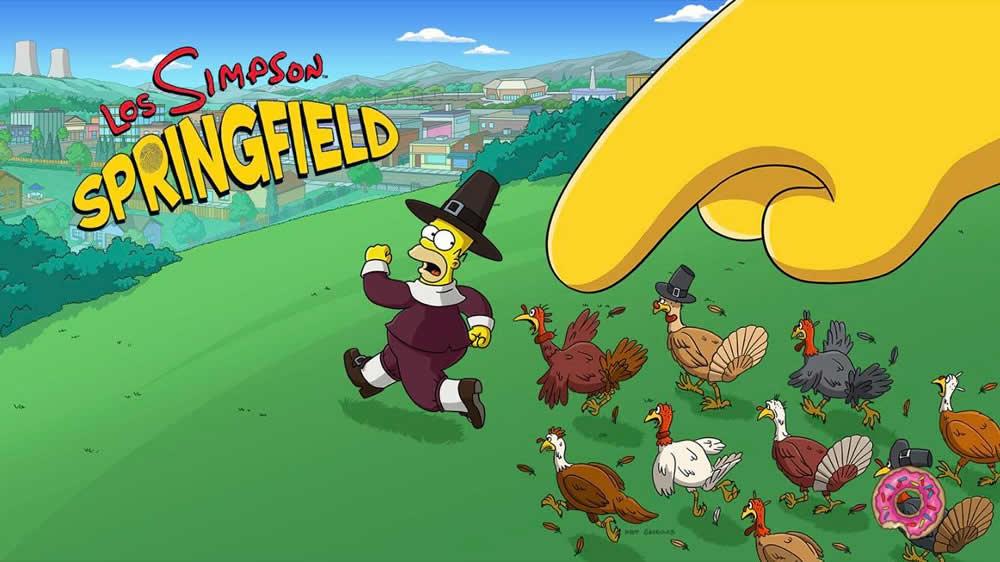 Los Simpson: Springfield - La subasta estadounidense - Principal