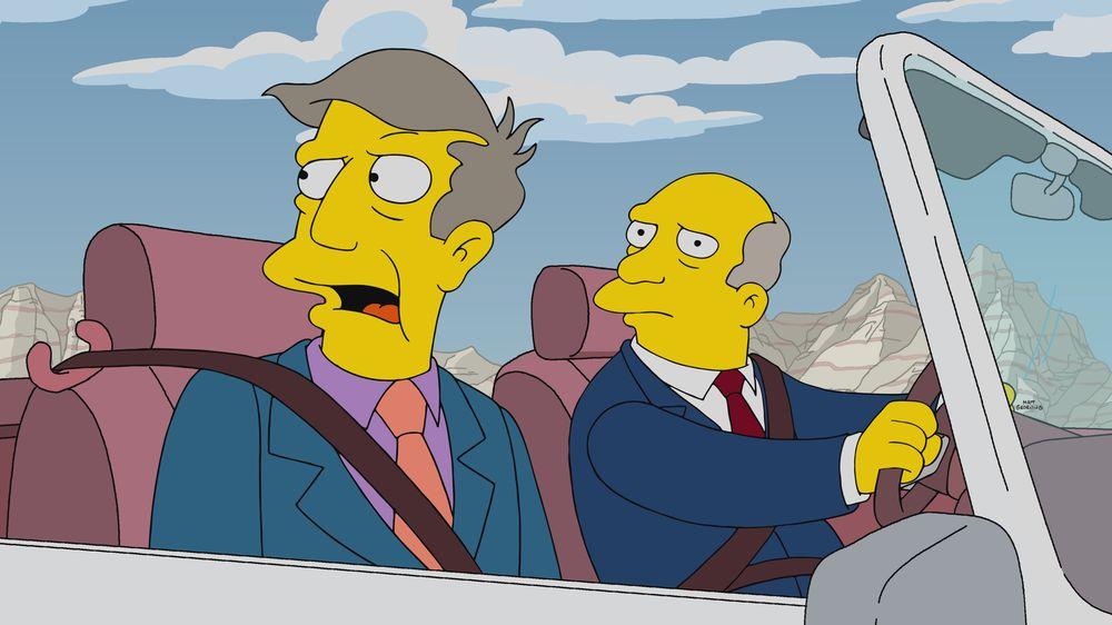 """Los Simpson - Temporada 32 - """"The Road To Cincinnati"""""""
