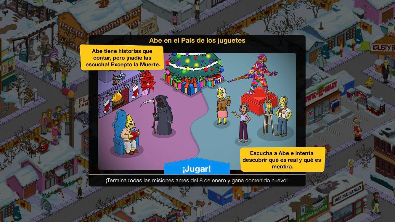 """""""Los Simpson: Springfield"""" - Abe en el País de los juguetes"""