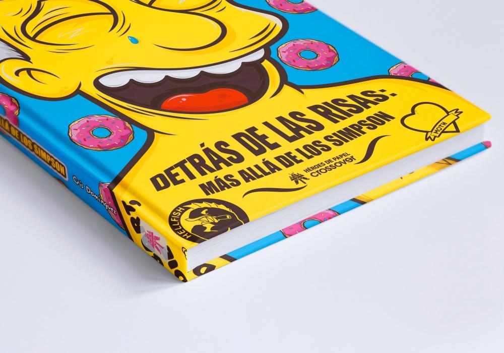 El libro 'Detrás de las risas: Más allá de Los Simpson'