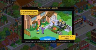 Nuevo minievento en Los Simpson: Springfield - Fiestas del futuro pasado