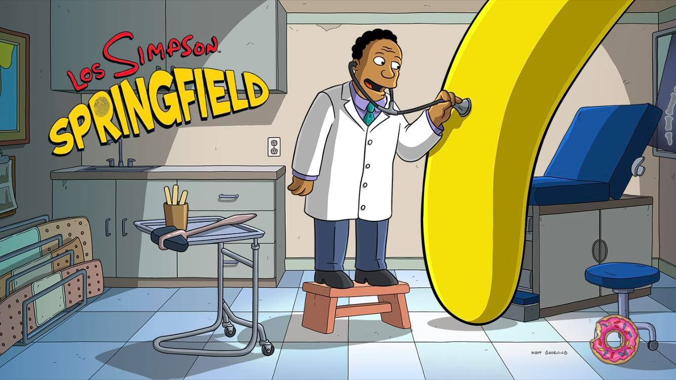 Los Simpson: Springfield - Historia Negra