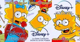 Disney+ llega hoy a España con 30 temporadas y la película de Los Simpson