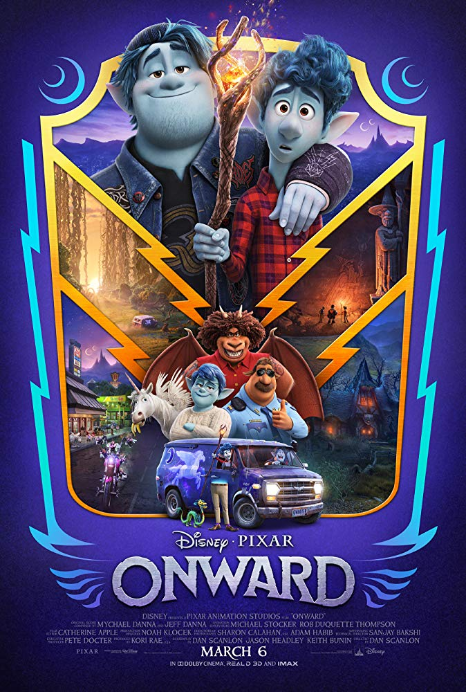 Onward, de Disney/Pixar