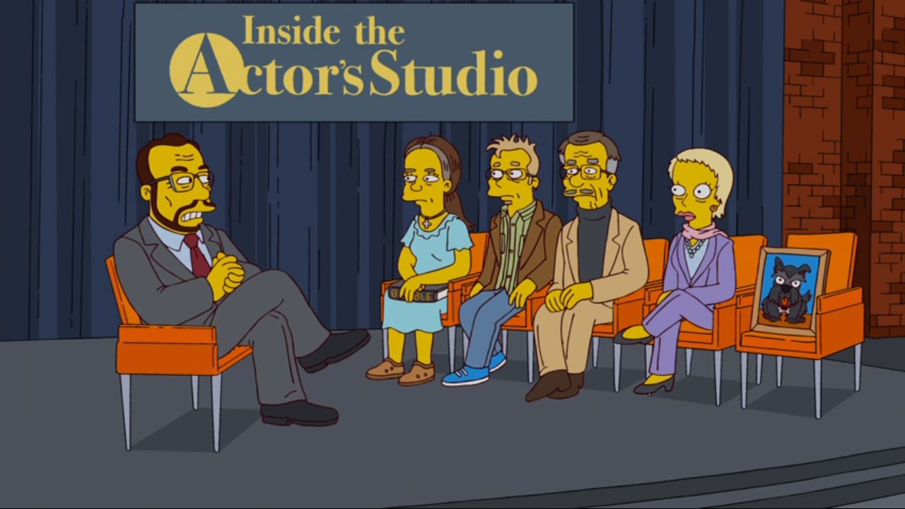 James Lipton en Los Simpson