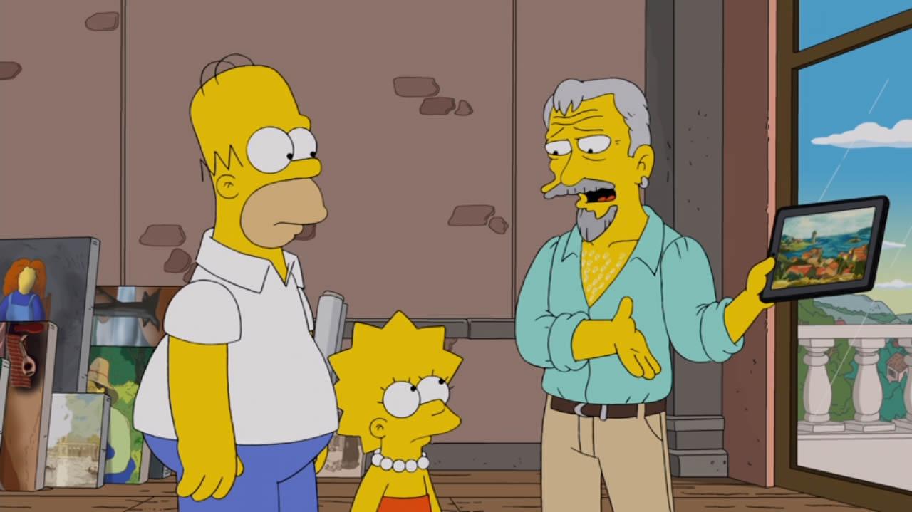 Max von Sydow en Los Simpson