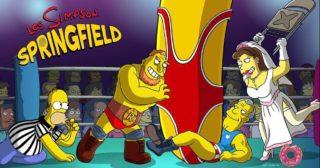 Nuevo evento en Los Simpson: Springfield - Lucha libre Simpson