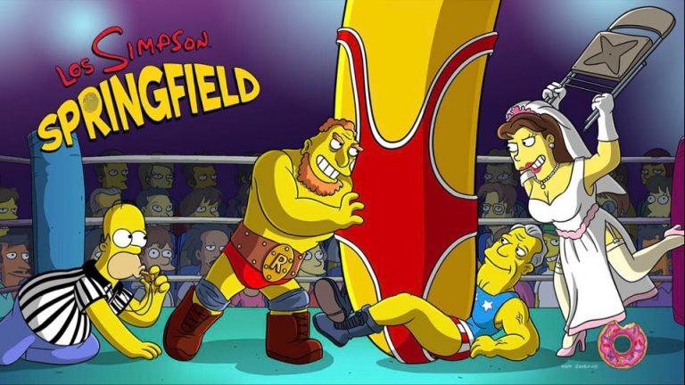 Nuevo evento en «Los Simpson: Springfield» – Lucha libre Simpson