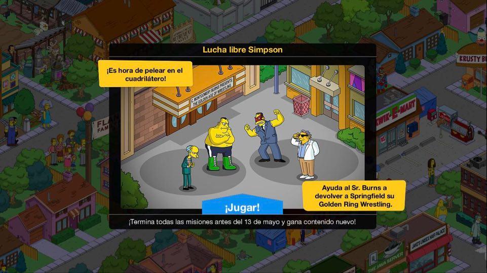 Los Simpson: Springfield - Lucha libre Simpson