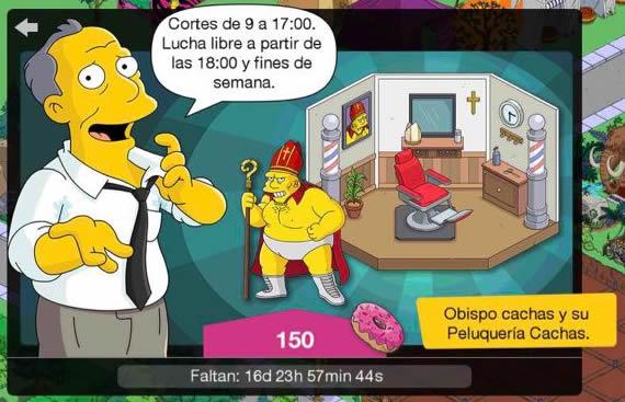 Los Simpson: Springfield - El Obispo Cachas