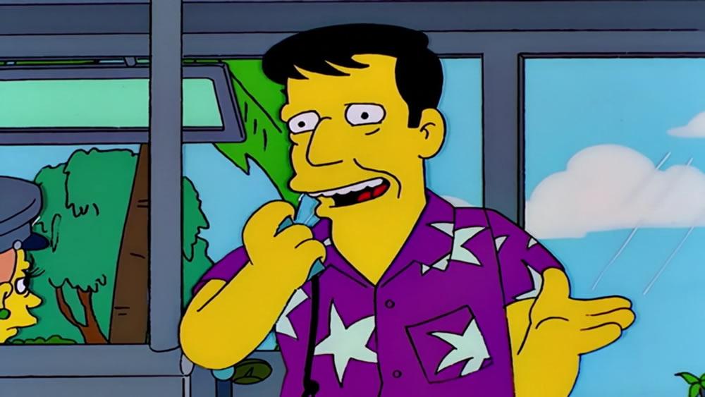 Wally Kogen, personaje de Los Simpson