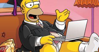 Homer Simpson se dirige a los graduados de 2020