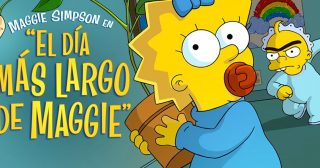 Maggie Simpson En: Un Largo Día De Guardería, ya disponible en Disney+