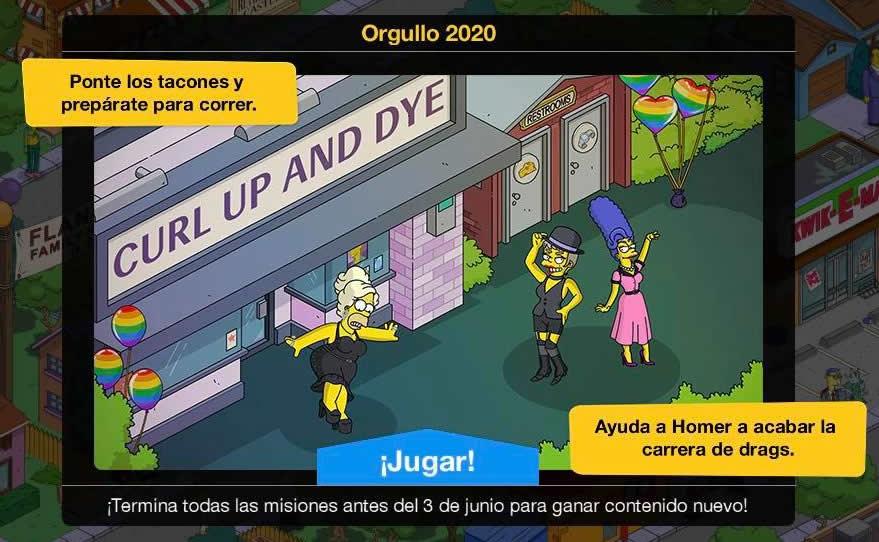 Los Simpson: Springfield - Orgullo 2020