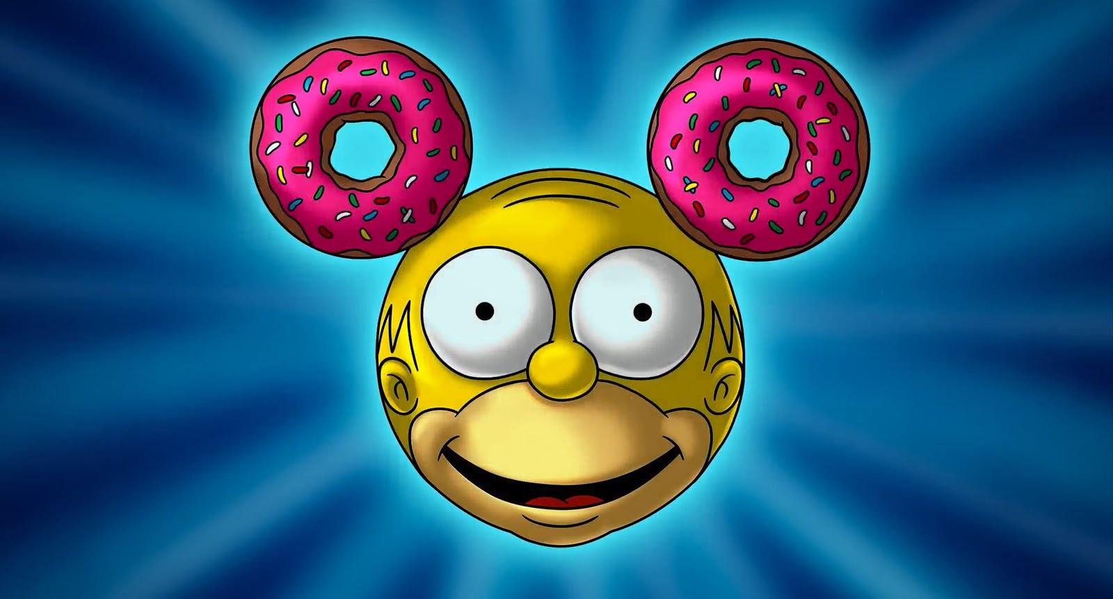 Homer Simpson/Mickey Mouse