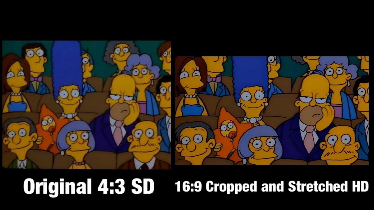 Formato erróneo de Los Simpson en Disney+