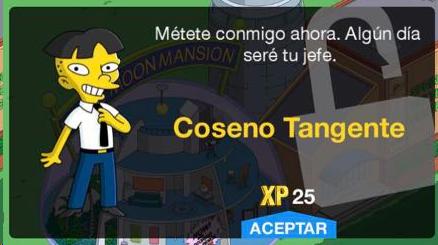 Los Simpson: Springfield - Coseno Tangente