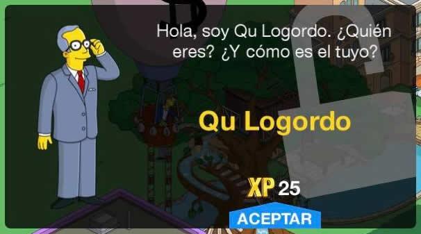 Los Simpson: Springfield - Qu Logordo