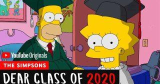 Los Simpson se dirigen a los graduados de 2020 en un nuevo corto especial