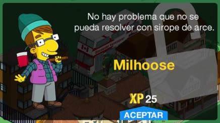 Los Simpson: Springfield - Milhoose