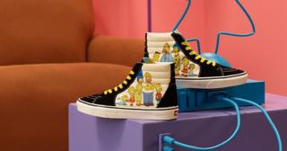 Primeras imágenes de las prendas de Los Simpson de Vans