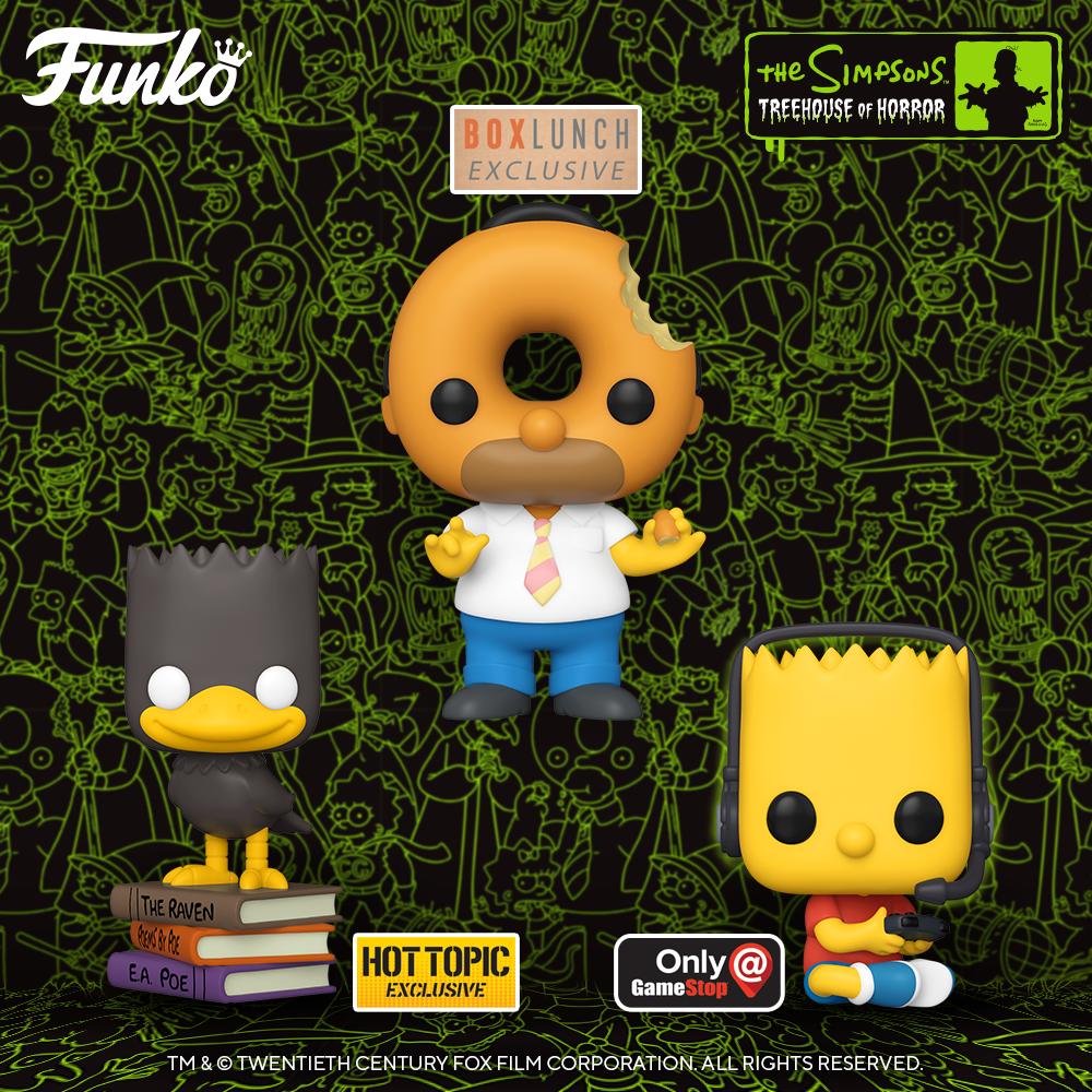 Funko Pop! de Los Simpson - Exclusivas Halloween 2020