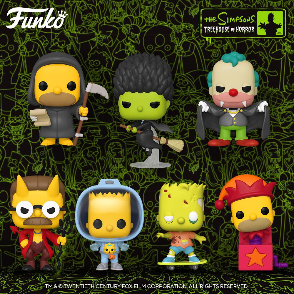 Funko Pop! de Los Simpson - Halloween 2020